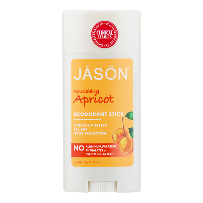 Zobrazit detail výrobku JASON Deodorant tuhý meruňka 71 g