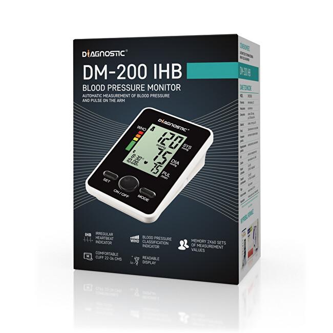 Zobrazit detail výrobku Biotter Pharma DIAGNOSTIC Tlakoměr automatický pažní DM-200 IHB
