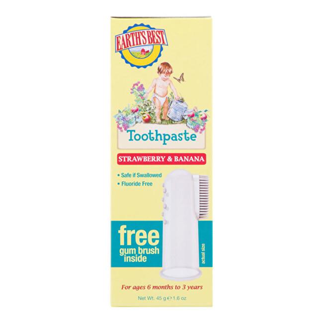 Zobrazit detail výrobku JASON E.B. Zubní pasta pro děti od 6 měsíců se zubním kartáčkem 45 g