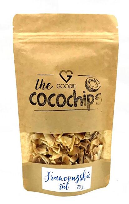 Kokosové chipsy BIO - Francouzská mořská sůl 70 g