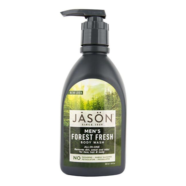 JASON Gél sprchový pre mužov Forest fresh 887 ml