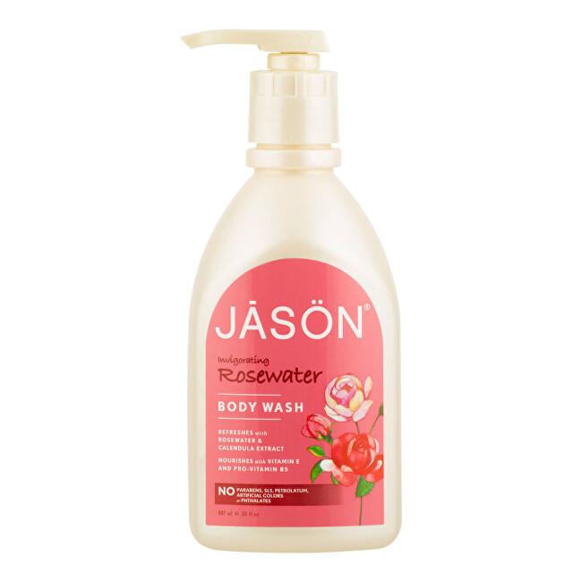 Zobrazit detail výrobku JASON Gel sprchový růže 887 ml