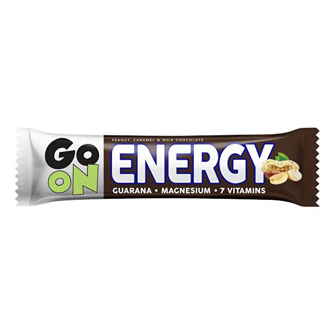 Zobrazit detail výrobku Vieste GO ON Energetická tyčinka oříšek karamel 50 g