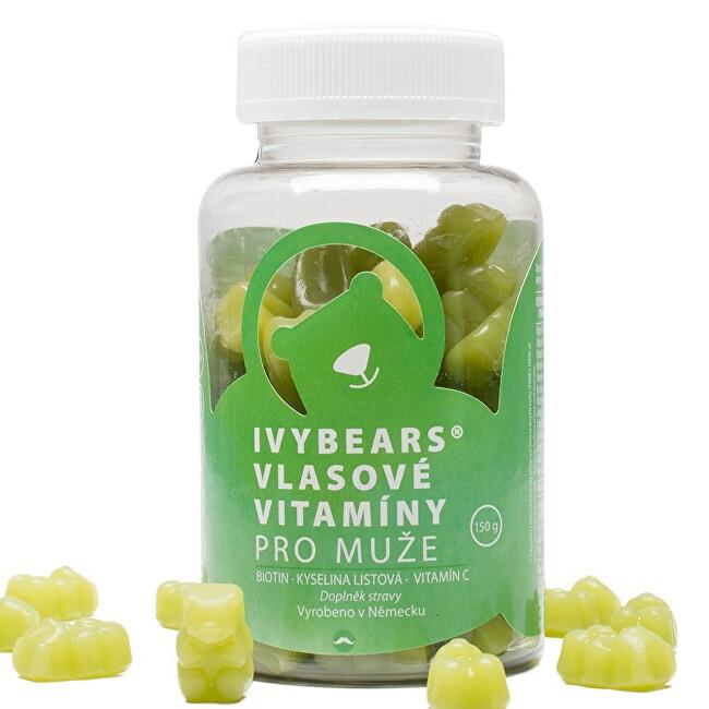 IVY Bears Vlasové vitamíny pre mužov 60 ks