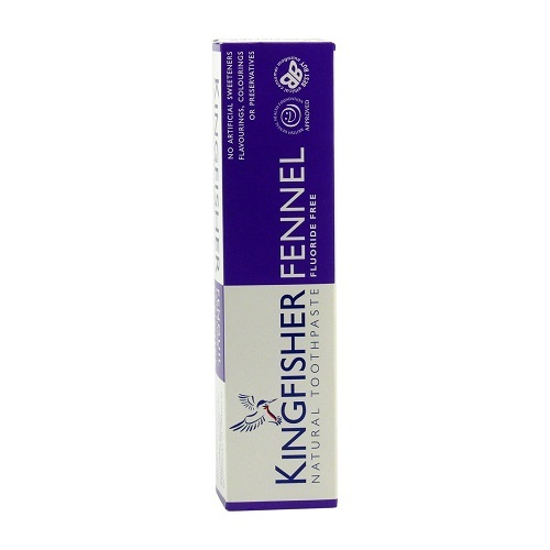 Kingfisher Kingfisher zubní pasta s fenyklem, bez fluoru 100 ml