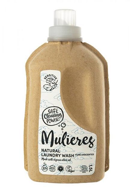 Zobrazit detail výrobku Mulieres Koncentrovaný prací gel 1,5 l - bez vůně - SLEVA - poškozená etiketa