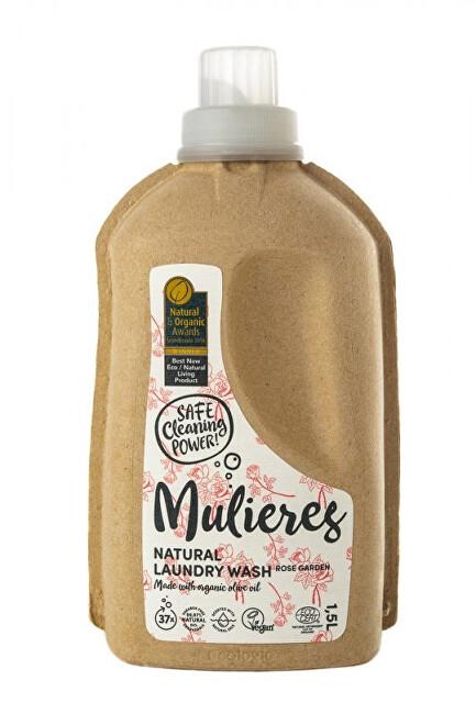 Zobrazit detail výrobku Mulieres Koncentrovaný prací gel 1,5 l - růžová zahrada