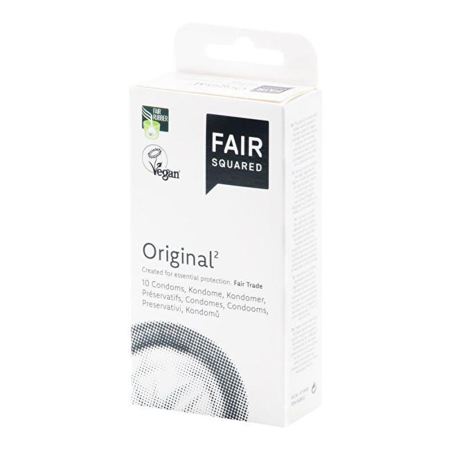Zobrazit detail výrobku FAIR SQUARED Kondom original 10 ks