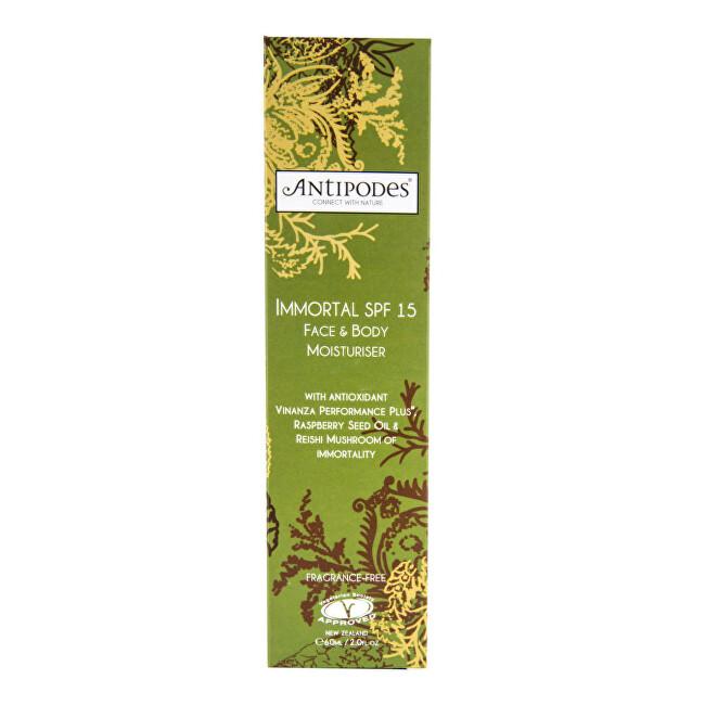 Zobrazit detail výrobku Antipodes Krém na tělo & obličej hydratační IMMORTAL SPF 15 60 ml