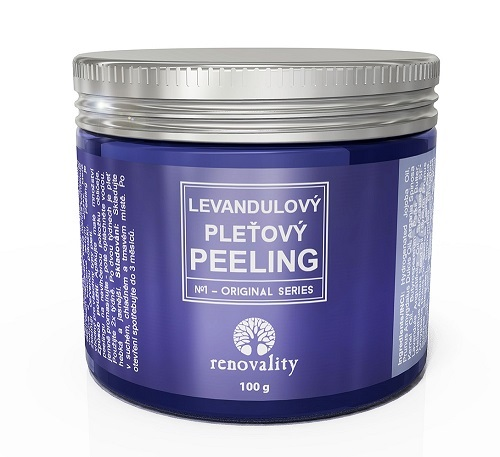 Zobrazit detail výrobku Renovality Levandulový pleťový peeling 100 g