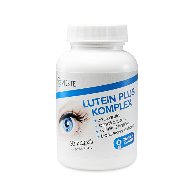 Vieste Lutein plus komplex 60 tablet
