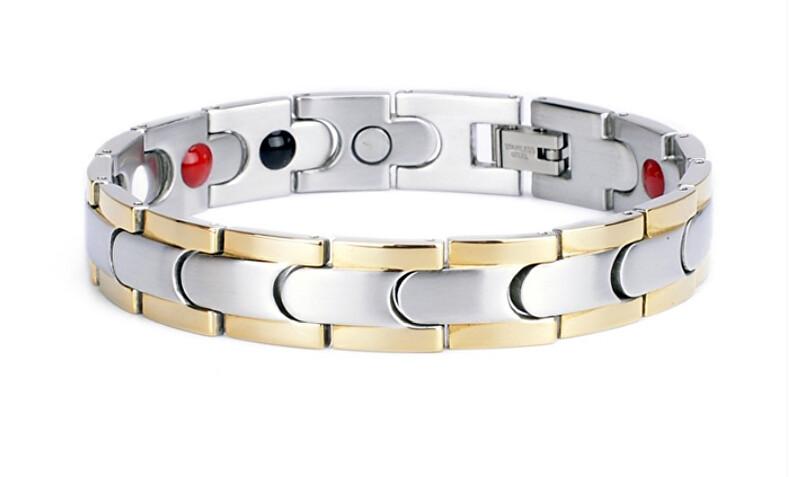 Zobrazit detail výrobku Euro Trade Plus Magnetický náramek multifunkční BNS - nerezová ocel 316L (21,5 cm)