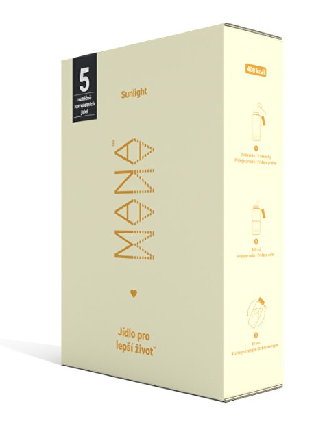 MANA Mana Powder Single Sunlight 5 x 86 g prášku