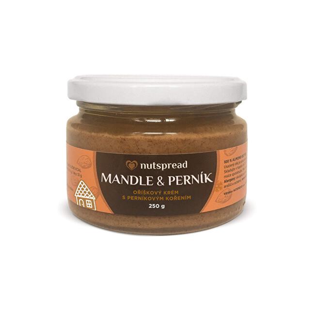 Zobrazit detail výrobku Nutspread Mandlový krém s perníkem 250 g