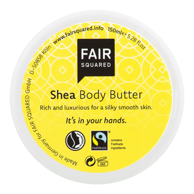 Zobrazit detail výrobku FAIR SQUARED Máslo tělové karité 150 ml