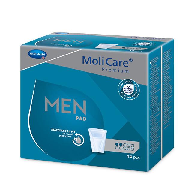 Zobrazit detail výrobku MoliCare MoliCare® Men 2 kapky savost 330 ml 14 ks