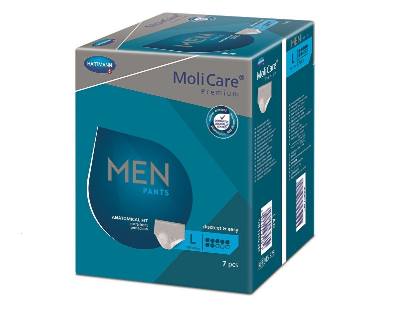 Zobrazit detail výrobku MoliCare MoliCare® Men Pants 7 kapek vel. L 7 ks