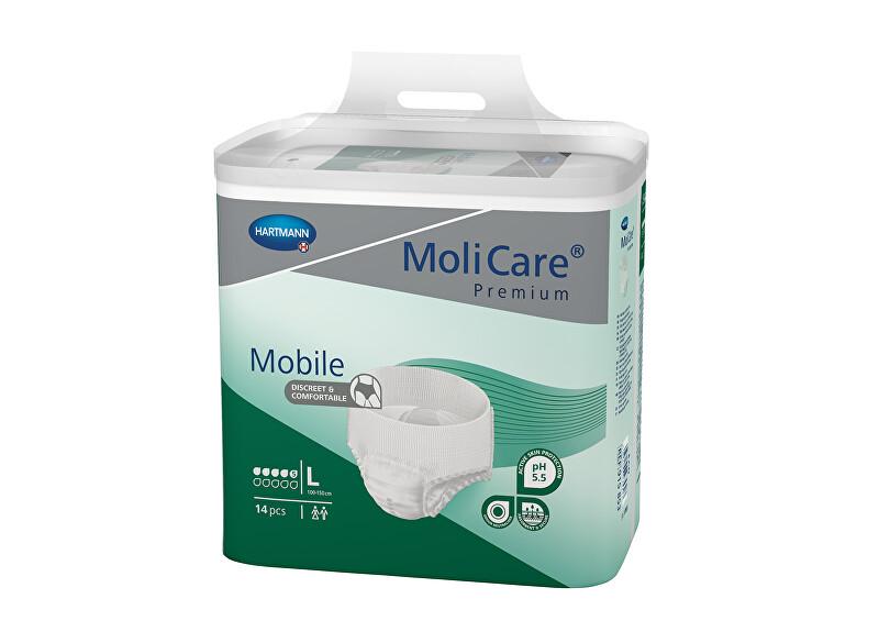 Zobrazit detail výrobku MoliCare MoliCare® Mobile 5 kapek vel. L savost 1198 ml 14 ks