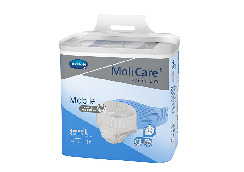 MoliCare® Mobile 6 kapek vel. L savost 1963 ml 14 ks