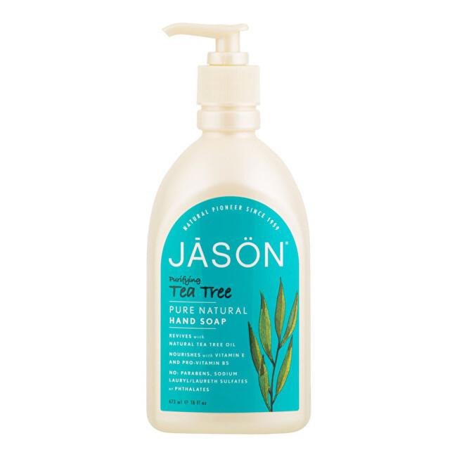 Zobrazit detail výrobku JASON Mýdlo tekuté tea tree 473 ml