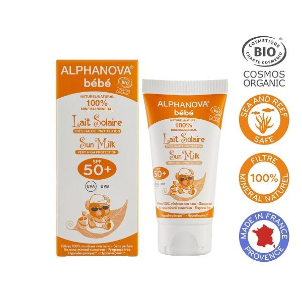 Zobrazit detail výrobku ALPHANOVA Opalovací krém pro miminka SPF 50+ BIO 50 ml