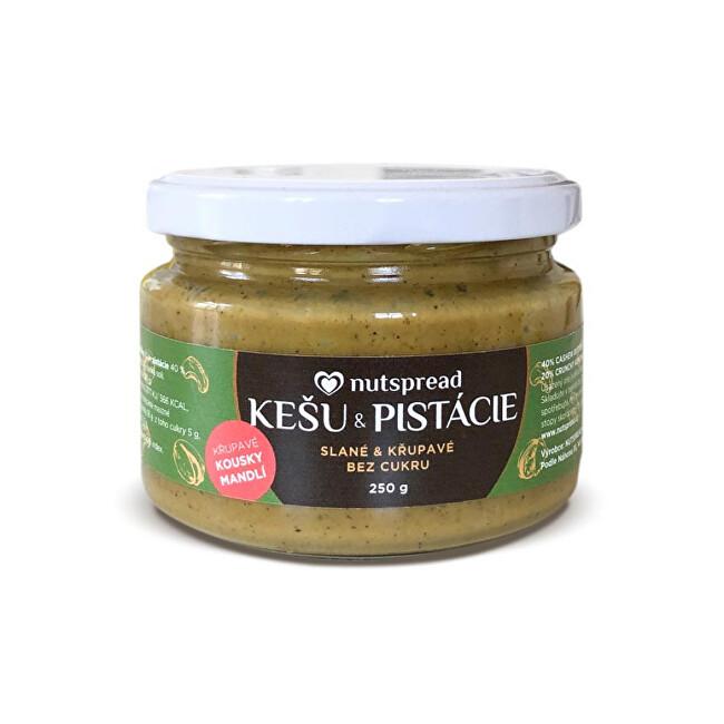 Zobrazit detail výrobku Nutspread Pistáciový krém s kešu, mandlemi a solí Nutspread 250 g