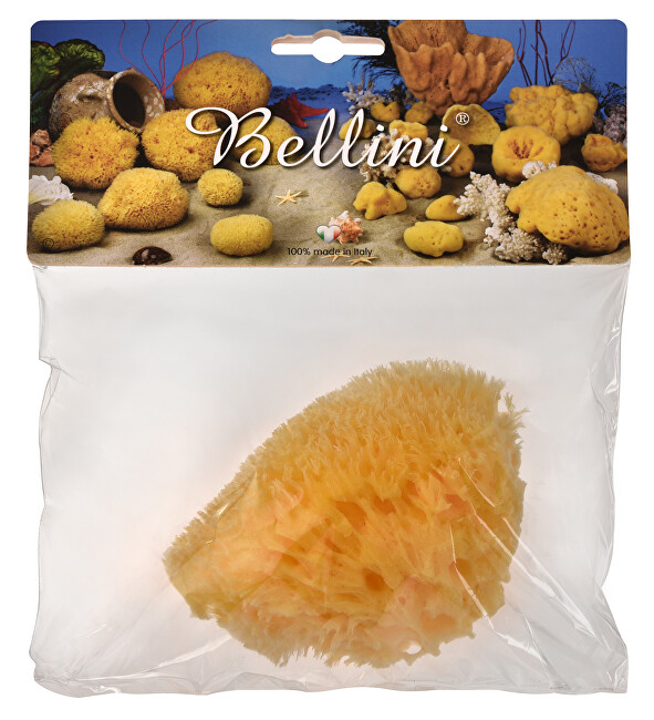 Zobrazit detail výrobku BELLINI Přírodní mořská houba – Středomořská – HONEYCOMB – SVĚTLÁ 9 - 10 cm