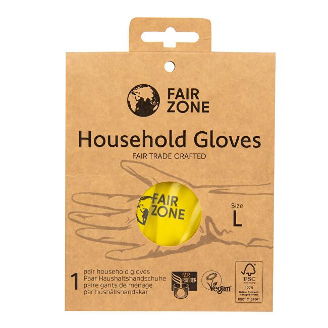 Zobrazit detail výrobku Fair Zone Fair Squared Rukavice pro domácnost z přírodního latexu