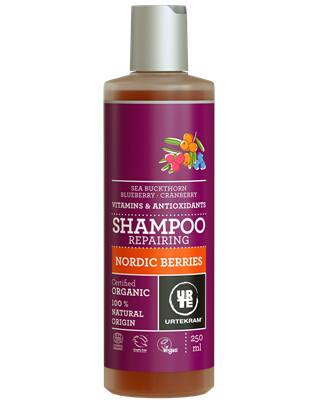 Zobrazit detail výrobku Urtekram Šampon Nordic Berries na poškozené vlasy BIO 250ml