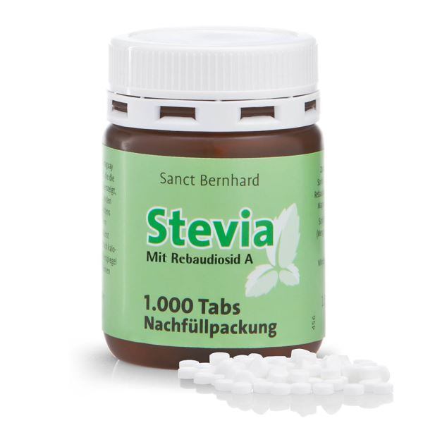 Sanct Bernhard Stevia 1 000 tablet