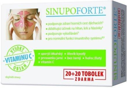 Zobrazit detail výrobku Simply You SINUPO Forte 20 + 20 tobolek