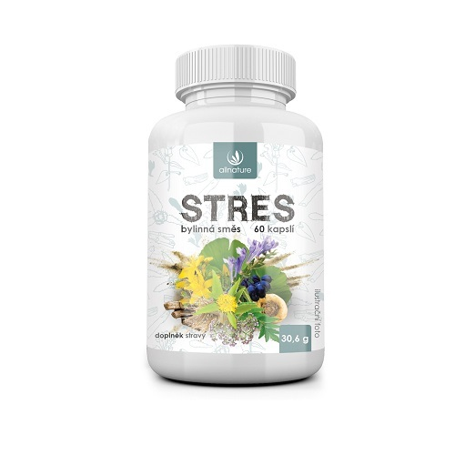 Zobrazit detail výrobku Allnature Stres bylinný extrakt 60 pastilek
