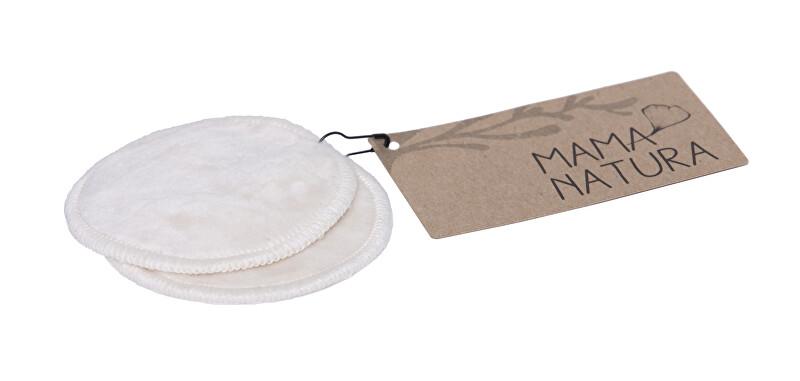 Zobrazit detail výrobku Mama natura kosmetický tampon pratelný z biobavlněného sametu malý 7 cm 2 ks
