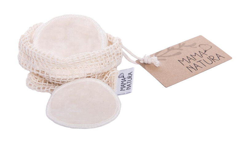 Zobrazit detail výrobku Mama Natura Pratelné odličovací tamponky malé 6 ks