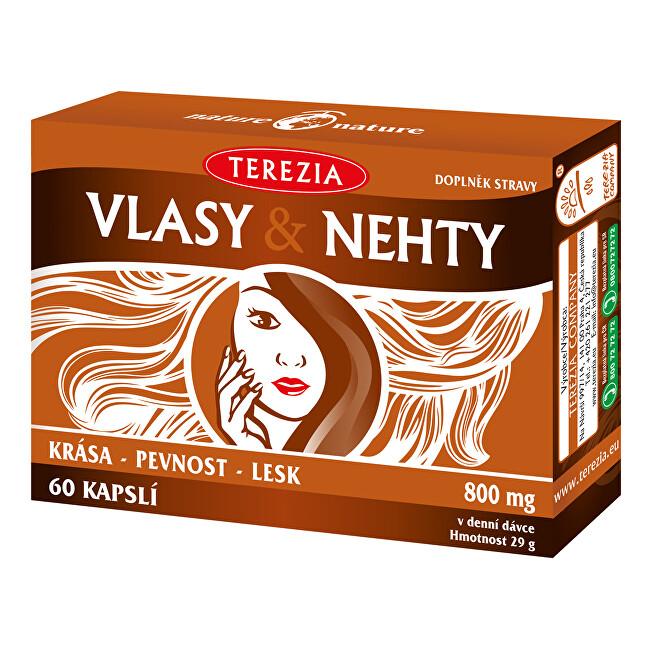 Zobrazit detail výrobku Terezia Company TEREZIA Vlasy & Nehty 60 kapslí