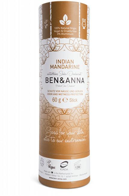 Tuhý deodorant BIO 60 g - Indická mandarinka