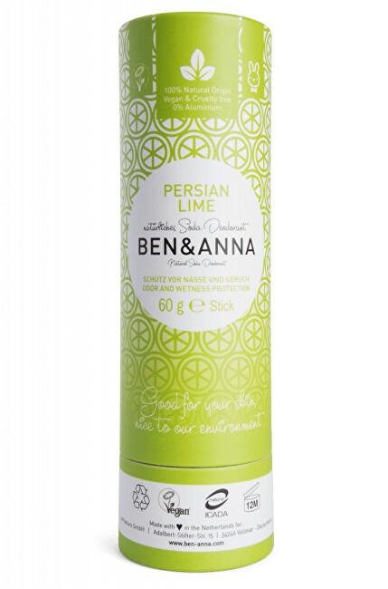 Zobrazit detail výrobku BEN & ANNA Tuhý deodorant BIO 60 g - Perská limetka