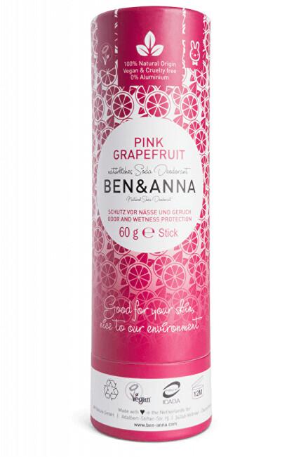 Tuhý deodorant BIO 60 g - Růžový grapefruit