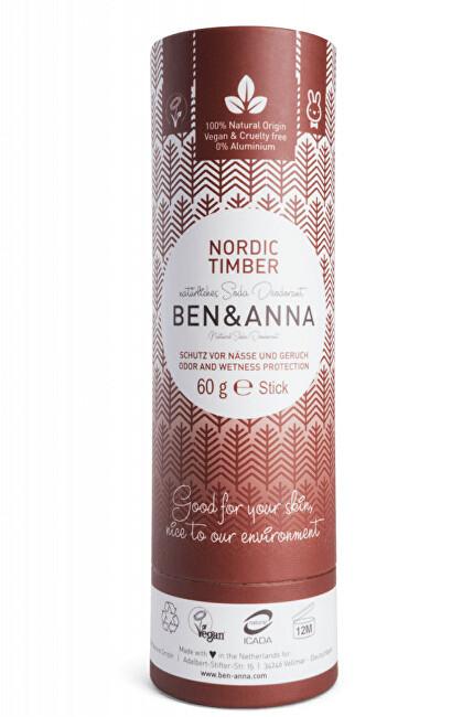 Tuhý deodorant BIO 60 g - Severské dřevo