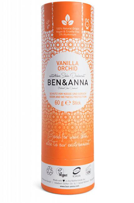 Tuhý deodorant BIO 60 g - Vanilková orchidej
