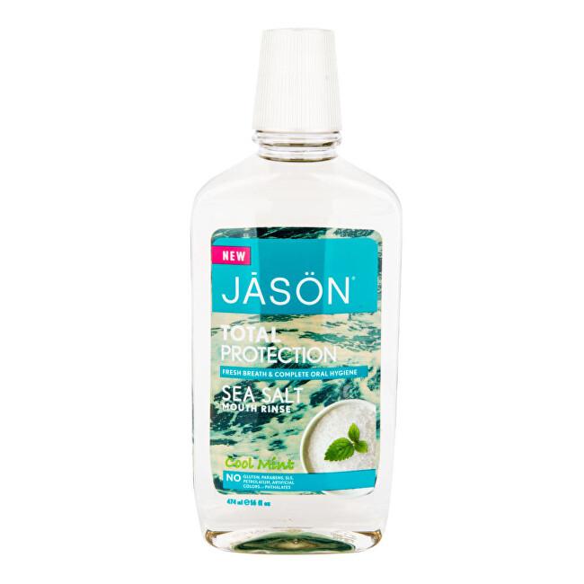 Zobrazit detail výrobku JASON Ústní voda total protection s mořskou solí a mátou 474 ml