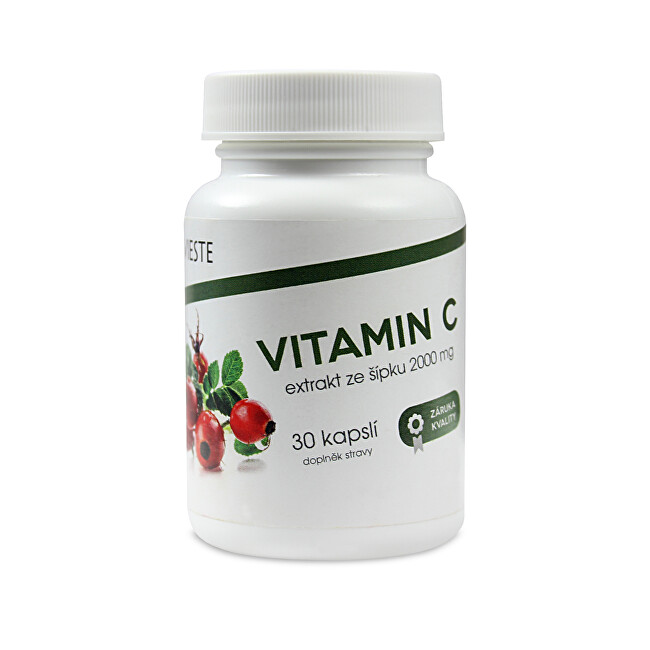 Vieste Vitamin C ze šípku 2000 mg 30 tablet