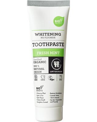 Zobrazit detail výrobku Urtekram Zubní pasta bělící BIO 75ml
