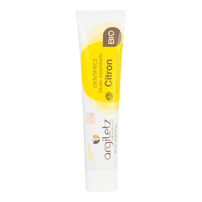 Zobrazit detail výrobku Argiletz Zubní pasta s bílým a žlutým jílem citron 75 ml BIO