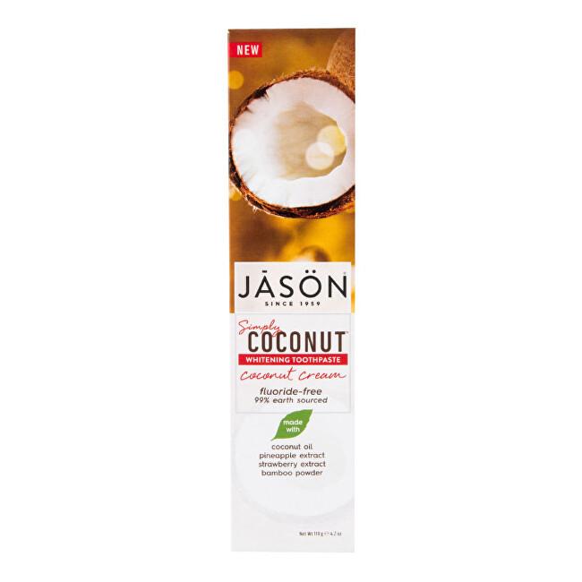 Zobrazit detail výrobku JASON Zubní pasta simply coconut bělicí 119 g