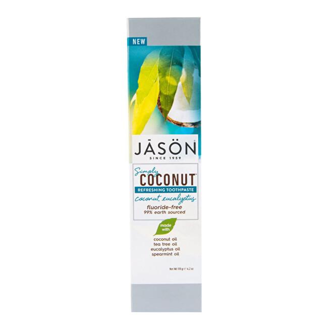 Zobrazit detail výrobku JASON Zubní pasta simply coconut eukalyptus 119 g
