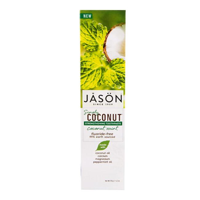Zobrazit detail výrobku JASON Zubní pasta simply coconut posilující 119 ml