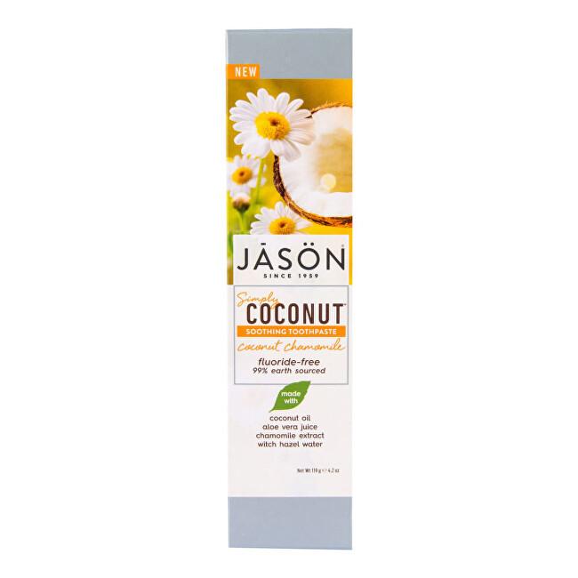 Zobrazit detail výrobku JASON Zubní pasta simply coconut zklidňující s heřmánkem 119 g