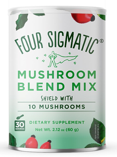 Four Sigmatic 10 Mushrooms + Rose Hips Mix 60 g