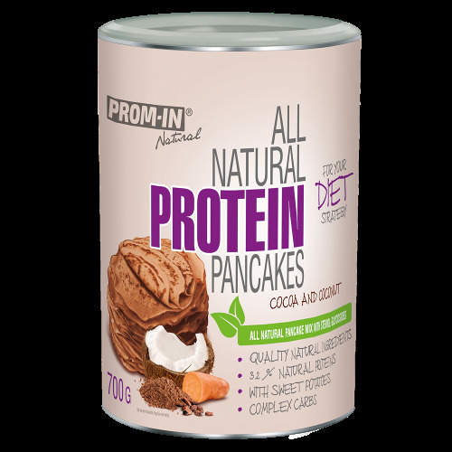 Zobrazit detail výrobku Prom-in All natural protein pancake 700 g Čoko/kokos